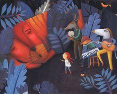 Estelí Meza, con 'Serenata', y Álex Herrerías, con 'Corre, armadillo, corre', han sido seleccionados por el XXVI Catálogo de Ilustradores de Publicaciones Infantiles y Juveniles de la Feria Internacional del Libro Infantil y Juvenil de México (FILIJ).