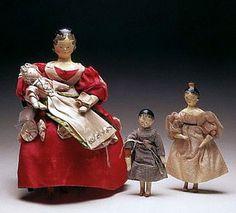 workman Dolls House Figura Resina