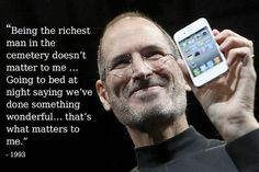 Image result for Steve Jobs quotes cemetery