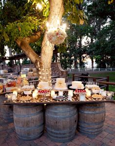 Back drops ate very important for your dessert tables!