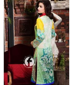 Firdous Embroidered Lawn Kurtis Collection 2016 FF_01B