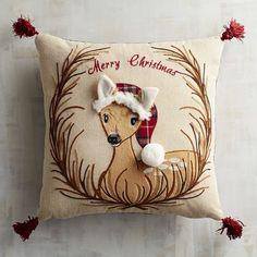 Woodland Friends Deer Pillow   Pier 1 Imports