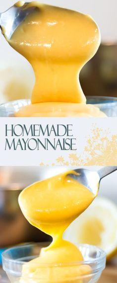 Homemade Mayonnaise Recipe: http://www.krumpli.co.uk/homemade-mayonnaise/