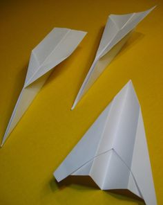Does A Longer Paper Airplane Fly Farther Than Wide One