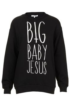 JESUS SWEATER BY ILLUSTRATED PEOPLE - Topshop price: £45.00