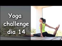 Yoga. Día 14: Garuda mudra, Kumbhaka, Hanumanasana Flow, aficiones | Un mes de yoga - Ledes.TV
