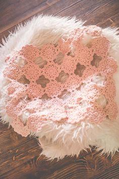 newborn layer blanket pink layer lace newborn by pinktulipcrochet