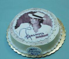 Michael Jackson birthday cake.