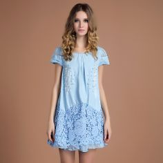 2014 summer Lace bead dress women Free shipping wholesale and retail US $58.14