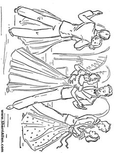 free dance coloring pages from sherriallencom
