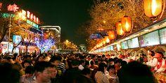 Wangfujing Street, Beijing street Food, night market