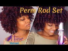 Detailed perm rod set + night routine on natural hair Natural Hair Treatments, Natural Hair Tips, Natural Curls, Natural Hair Styles, Natural Baby, Medium Hair Styles, Curly Hair Styles, Perm Rod Set, The Mane Choice