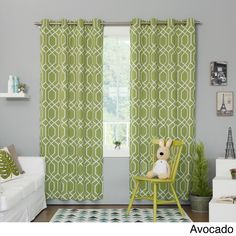 Insulated Thermal 84 Inch Blackout Curtains Artichoke Olive Green Size 52 X Solid