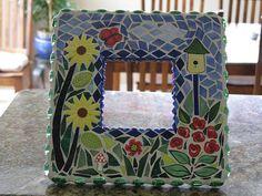 Mosaic Garden mirror   Flickr - Photo Sharing!