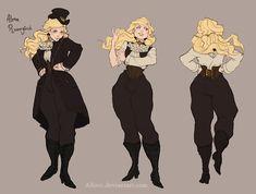 A Gentlewoman by Ailovc.deviantart.com on @deviantART