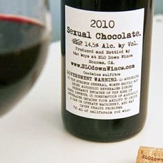 Wine of the Day: 2010 Sexual Chocolate