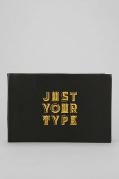 Luckies of London Just Your Type Foil Sticker Set