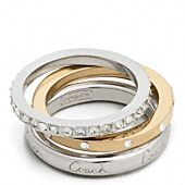 Love the gold+silver together! Maybe I'd even give the solid coach one to my sis :)