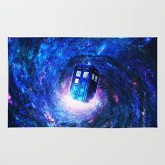 Tardis Doctor Who Vortex Rug