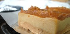 Paleo Caramel Cheesecake Bars - These are AH-mazing! I had them this wk and can't wait to make them myself!