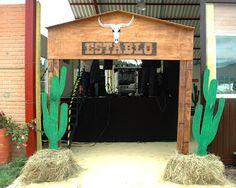 Beula decoraciones, decoracion de eventos tematicos e infantiles: Fiesta Vaquera Nueva