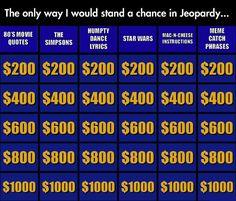 My Kind Of Jeopardy