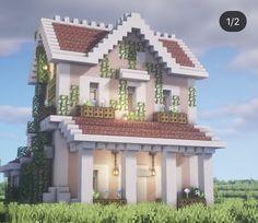 Minecraft House Plans, Minecraft Mansion, Minecraft Cottage, Easy Minecraft Houses, Minecraft House Tutorials, Minecraft City, Minecraft House Designs, Minecraft Decorations, Minecraft Construction