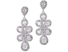 Classic Drop Earrings B179 | Bridal Jewelry | Tejani