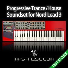 I proudly anounce my brand new soundset for Clavia's Nord Lead 3 and Nord Rack 3 synthesizers. This is a perfect choice for every trance, house or progressive producers. It contains a whole bank of categorized presets, including basses, leads, synth sounds, pads and a few FX sounds. All the programs have the modulatin wheel assigned to morph the sounds instantly.