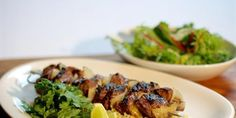 Barbecue Beef Kebabs in Marinade with Couscous - LifeStyle FOOD