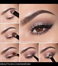 Maquillaje ojos smokey
