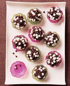 Chocolate Chip Truffles #dessert #recipes