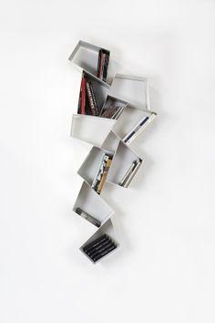 Wu Su Line, #modular floating #bookcase #etimodesign #diegocollareda. Ronda Design.