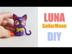 New fitness inspiration board diy products ideas Sailor Moon Luna, Sailor Moon Cakes, Inspiration Board Fitness, Cute Clay, Polymer Clay Charms, Diy Clay, Clay Tutorials, Cold Porcelain, Cute Crafts