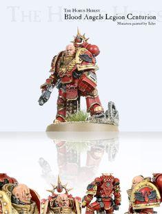 Forge World, Legion Centurion - Blood Angels Legion Centurion - Gallery Warhammer Models, Warhammer 30k, Warhammer 40k Blood Angels, The Horus Heresy, War Hammer, Warhammer 40k Miniatures, Fantasy Miniatures, Crusaders, Space Marine