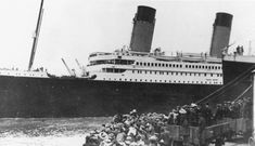 April 10, 1912: Titanic departing Southampton....I loved learning about this as a child. Can't believe it's been 100 years.