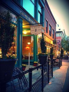 La Boniche, downtown Lowell  -good restaurant, great photo!