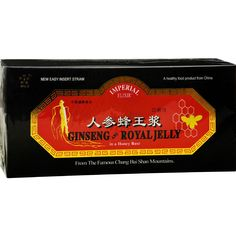 Imperial Elixir Ginseng And Royal Jelly - 10 Mg - 30 Bottles