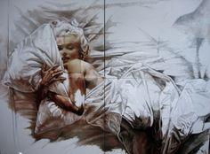 Marilyn Monroe par Natacha Toutain