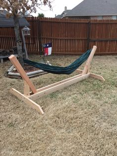 Homemade Hammock stands!                                                                                                                                                     More