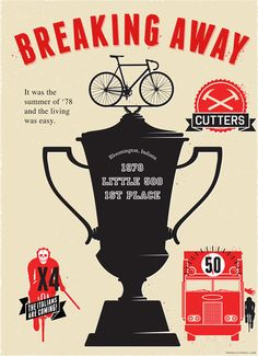 breaking away poster (from the heavy pedal)