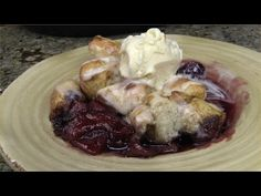 Cinna Berry Apple Crumble Recipe by Cook'n