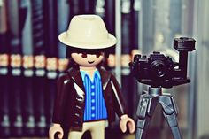 playmobil photographer