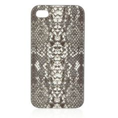 Marc Jacobs python print iphone case. Sweet!