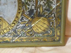 Three Very Fine Italian Engraved Mirrors Within Carved