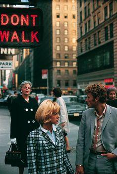 Sylvie Vartan et Johnny Hallyday  a New York 1963