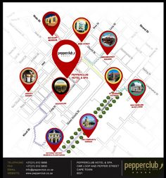 One of Pepperclub Hotel & Spa's greatest assets is its location! We are located in the heart of CapeTown's inner city district – a place that has, especially in recent years, come alive with variousactivities and interesting personalities. Not only does the hotel neighbour Long Street – famous for its buzzing energy of people, restaurantsand bars, but also Loop and Bree Streets. These areas are associated with New York and...