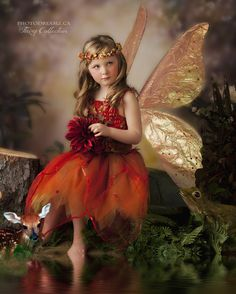 Fairy photography, water effect