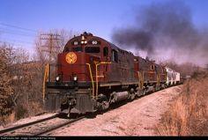 RailPictures.Net Photo: AM 60 Arkansas & Missouri Railroad Alco C420 at Fort Smith, Arkansas by Paul Strang