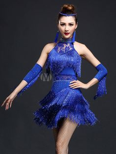 Ladies Professional Latin Salsa Cha Cha Ballroom Fringe Dance Competition Dress Costumes for Women Dancer Clothing Wear Clothes Dress Clothes For Women, Party Dresses For Women, Sexy Dresses, Latin Dance Dresses, Ballroom Dance Dresses, Danse Salsa, Nylons, Salsa Dress, Costume Dress